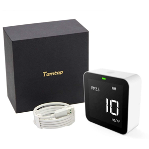 Packaging and air quality monitor
