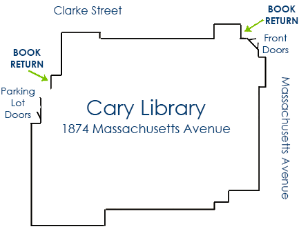 Cary Library Map