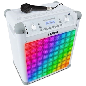 Rainbow karaoke machine