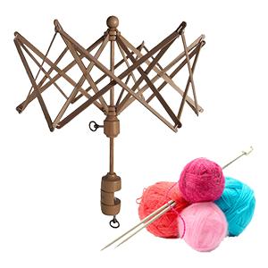 Yarn ball winder & swift